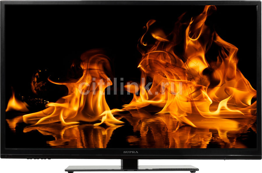 "LED телевизор SUPRA STV-LC39660FL  ""R"", 39"", FULL HD (1080p),  черный"