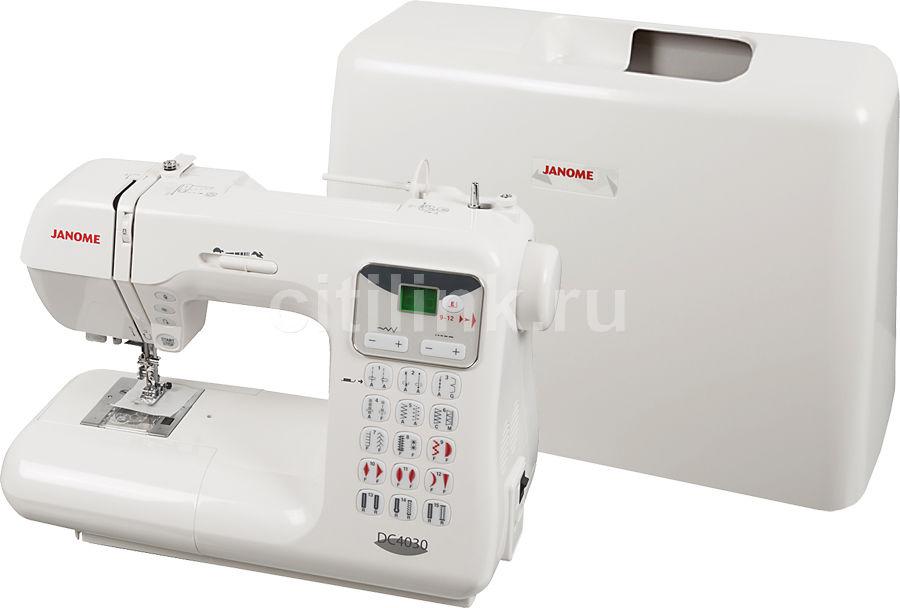 Швейная машина JANOME DC4030 белый [дубль использовать 777824]
