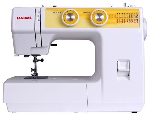 Швейная машина JANOME JT1108 белый