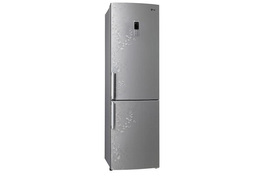 Холодильник LG GA-B489ZVSP,  двухкамерный,  серебристый