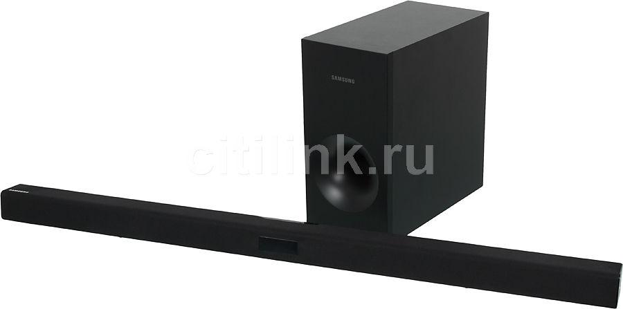 Звуковая панель SAMSUNG HW-F350,  черный [hw-f350/ru]