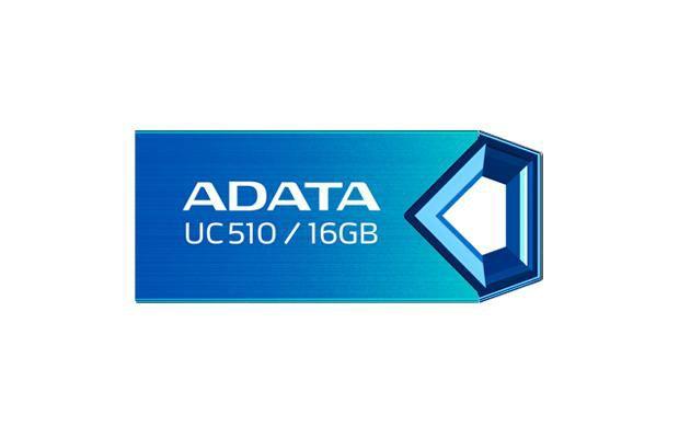 Флешка USB A-DATA DashDrive Choice UC510 16Гб, USB2.0, синий [auc510-16g-rbl]
