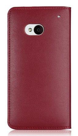 Чехол (флип-кейс) GGMM Kiss-H1, для HTC One, красный [htc02505]