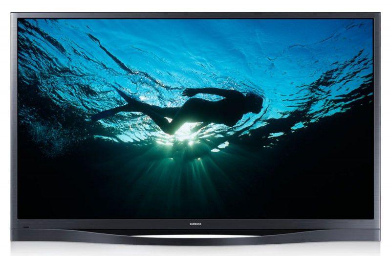 "Плазменный телевизор SAMSUNG PS64F8500AT  ""R"", 64"", 3D,  FULL HD (1080p),  темно-серый"