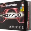 Видеокарта POWERCOLOR Radeon HD 7790,  1Гб, GDDR5, OC,  Ret [ax7790 1gbd5-dh/oc] вид 7