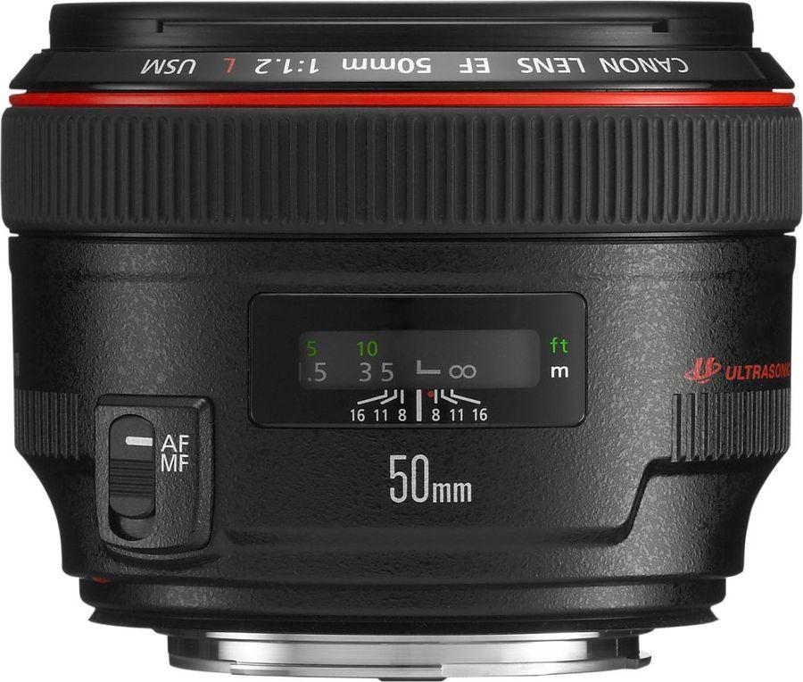 Объектив CANON 50mm f/1.2L EF USM, Canon EF [1257b005]