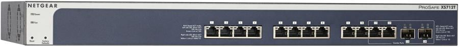 Коммутатор NETGEAR ProSafe XS712T-100NES