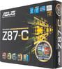 Материнская плата ASUS Z87-C LGA 1150, ATX, Ret вид 6