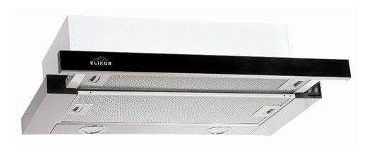 Вытяжка встраиваемая Elikor Интегра Glass 60Н-400-В2Г нержавеющая сталь/стекло чер (отремонтированный)