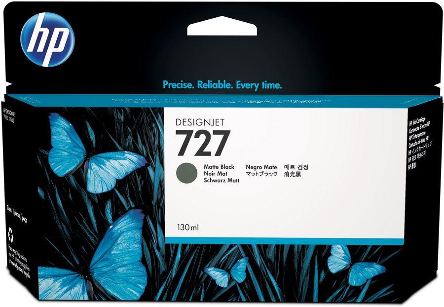 Картридж HP 727 черный матовый [b3p22a]