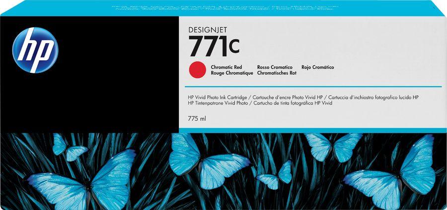 Картридж HP 771C хроматический красный [b6y08a]