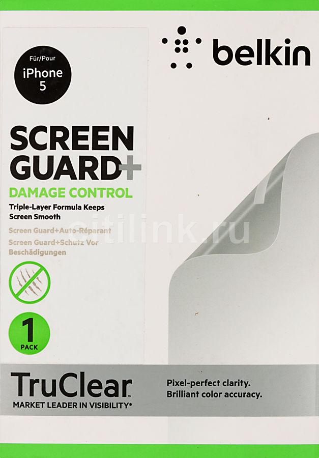 Защитная пленка BELKIN F8W181cw  для Apple iPhone 5,  1 шт