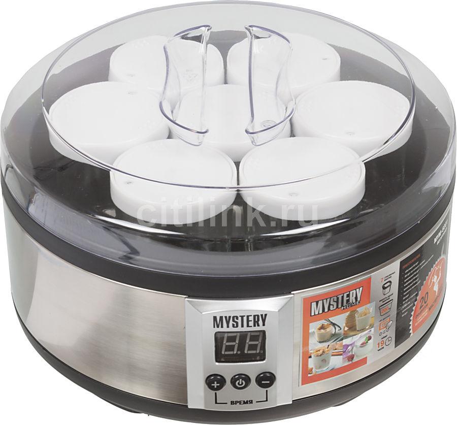 Йогуртница Mystery MYM-6001 серебристый 50W (отремонтированный)