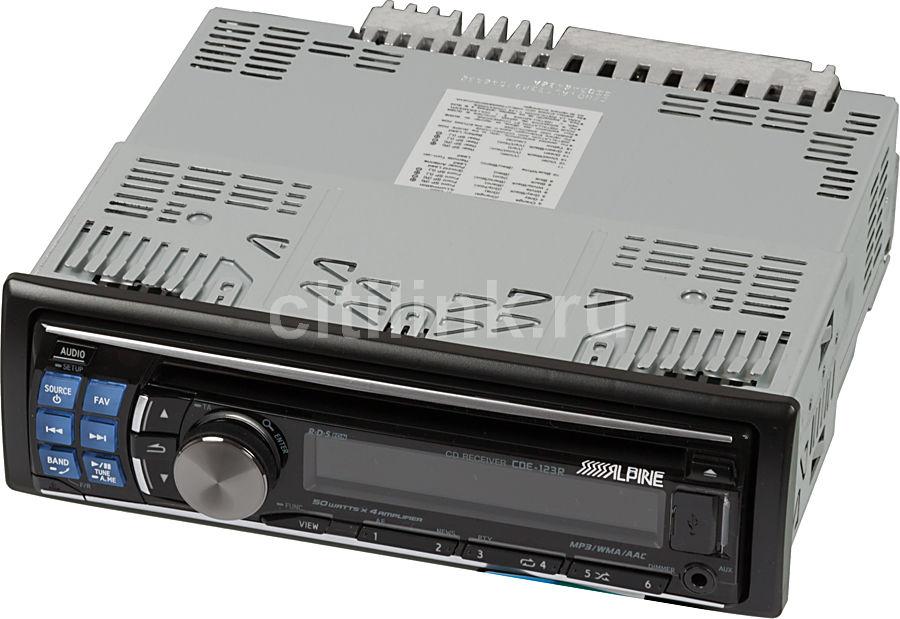 Автомагнитола ALPINE CDE-123R,  USB