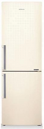 Холодильник SAMSUNG RB28FSJNDEF,  двухкамерный,  бежевый [rb28fsjndef/rs]