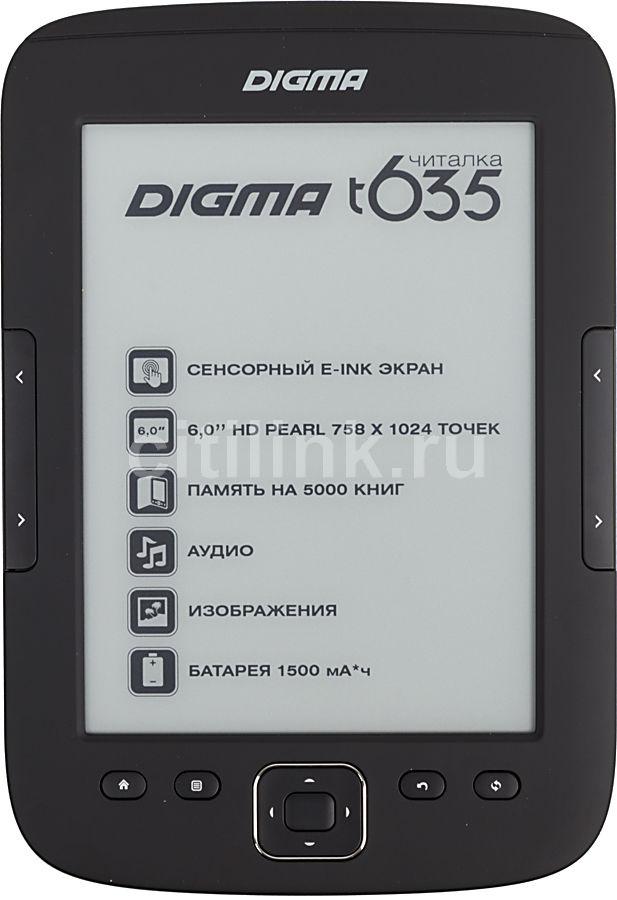 Электронная книга DIGMA T635,  6