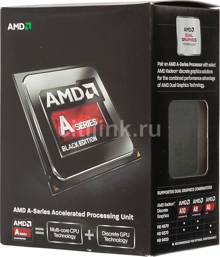 Процессор AMD A10 6800K, SocketFM2 BOX [ad680kwohlbox]