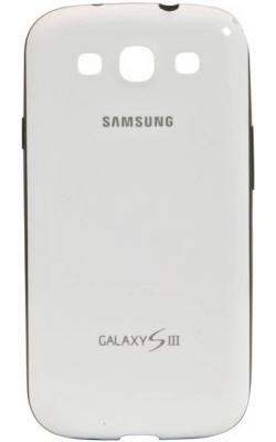 Чехол (клип-кейс) SAMSUNG EFC-1G6BWE, для Samsung Galaxy S III, белый [efc-1g6bweser]