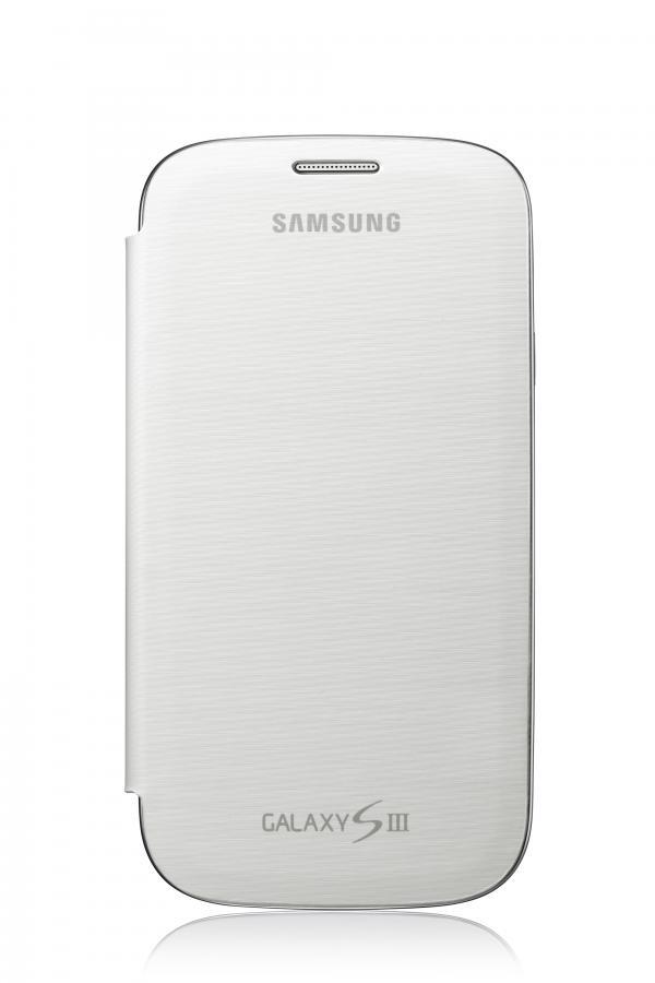 Чехол (флип-кейс) SAMSUNG EFC-1G6FW, для Samsung Galaxy S III, белый [efc-1g6fwecser]