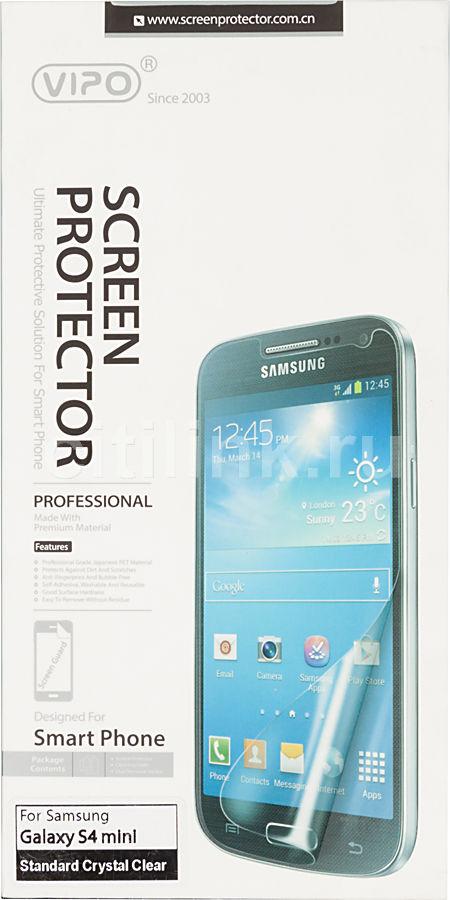Защитная пленка VIPO для Samsung Galaxy S4 mini,  прозрачная, 1 шт