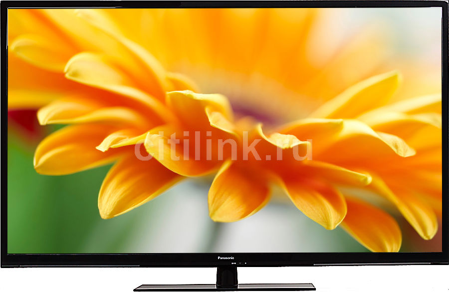 """LED телевизор PANASONIC VIERA TX-LR50B6  """"R"""", 50"""", FULL HD (1080p),  черный"""