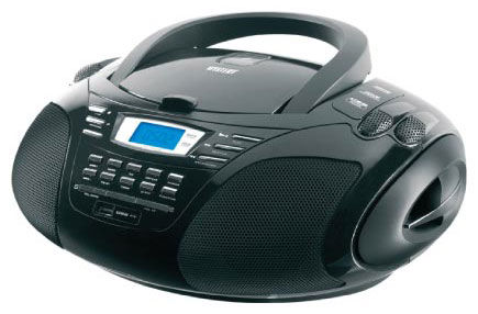Аудиомагнитола MYSTERY BM-6109U,  черный