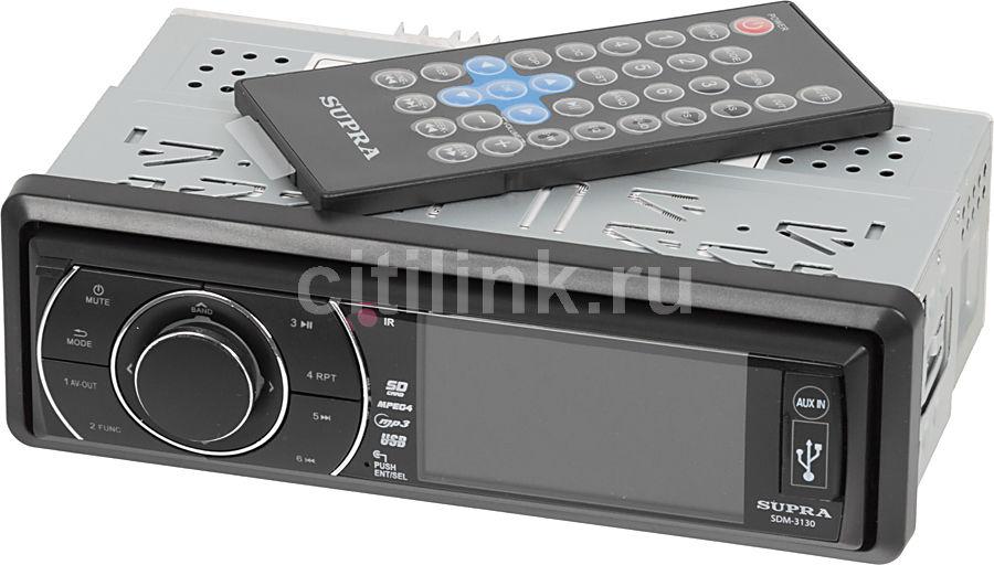 Автомагнитола SUPRA SDM-3130,  USB,  SD/MMC