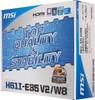 Материнская плата MSI H61I-E35 V2/W8 LGA 1155, mini-ITX, Ret вид 6