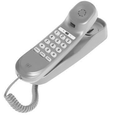 Проводной телефон TEXET ТХ-224, светло-серый