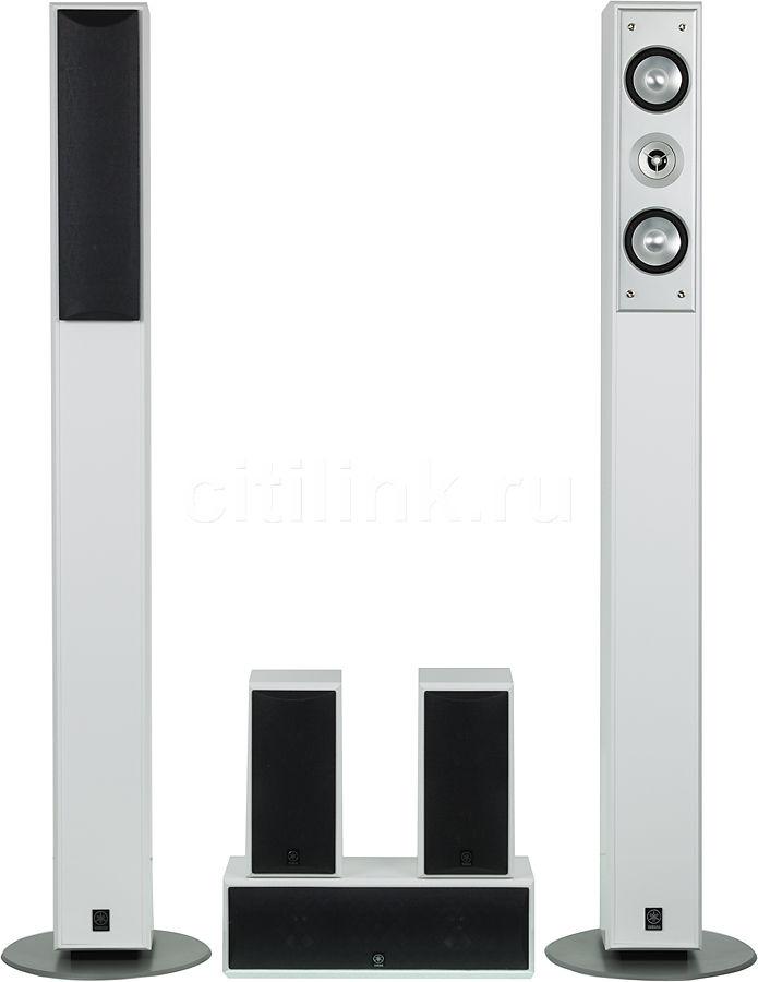 Акустическая система YAMAHA NS-PC210,  5.0,  белый