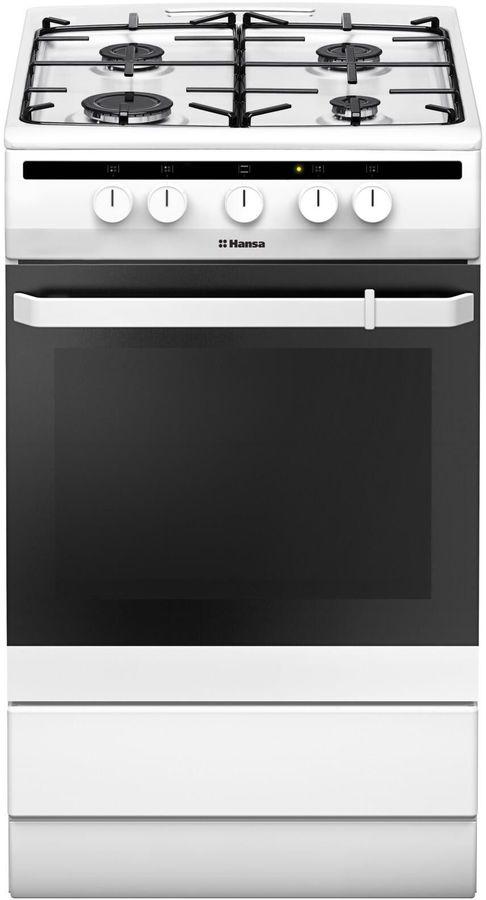 Газовая плита HANSA FCGW51001 духовка,  белый