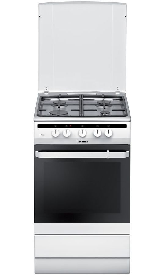 Газовая плита HANSA FCGW53021,  газовая духовка,  белый