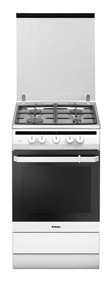 Газовая плита HANSA FCGW53022,  газовая духовка,  белый
