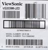 Монитор ЖК VIEWSONIC VG2039M-LED 19.5