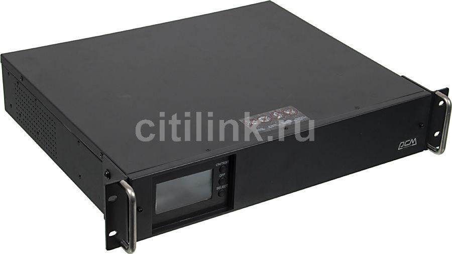 Источник бесперебойного питания POWERCOM Smart King RM SMK-1250A RM LCD,  1250ВA [rmk-1k2a-6gc-2440]