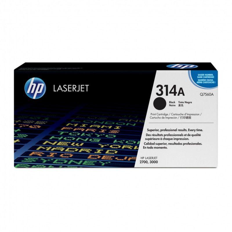 Картридж HP Q7560A черный