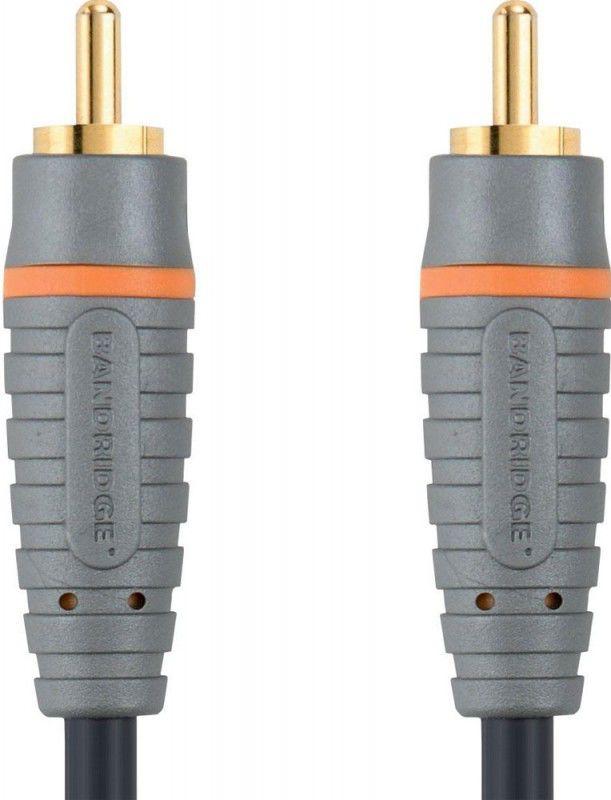 Кабель аудио BANDRIDGE BAL4801,  1хRCA (m)  -  1хRCA (m) ,  1м, GOLD