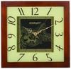 Настенные часы SCARLETT SC-33C, аналоговые,  бежевый вид 1