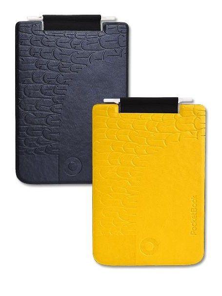 Обложка POCKETBOOK PBPUC-5-YLBC-BD, черный/ желтый