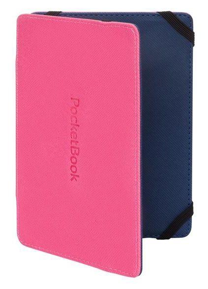 Обложка POCKETBOOK PBPUC-5-PKBL-2S, розовый/ голубой