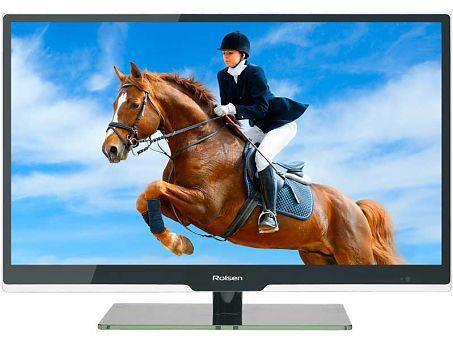 "LED телевизор ROLSEN RL-32E1301GU  ""R"", 32"", HD READY (720p),  черный"