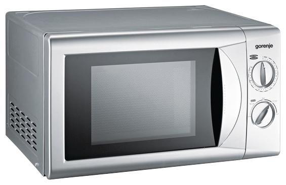Микроволновая печь GORENJE MO200MSUR, серебристый
