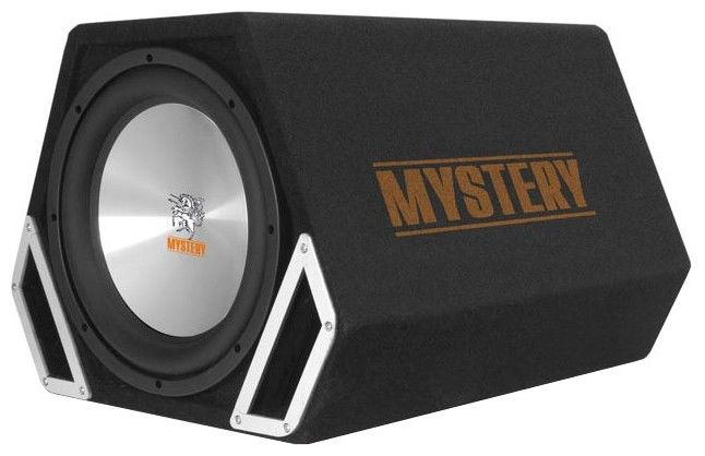 Сабвуфер автомобильный MYSTERY MTB-309A,  активный,  600Вт