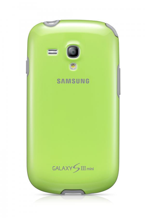 Чехол (клип-кейс) SAMSUNG EFC-1M7BGE, для Samsung Galaxy S III mini, зеленый [efc-1m7bgegser]