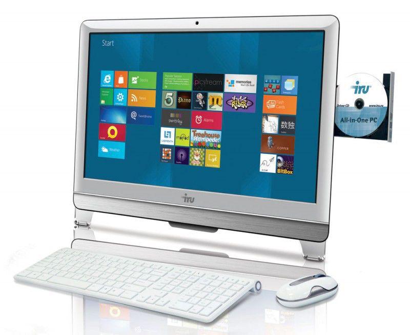 Моноблок IRU 308, Intel Pentium G860, 4Гб, 1000Гб, Intel HD Graphics, DVD-RW, Windows 7 Home Basic, белый