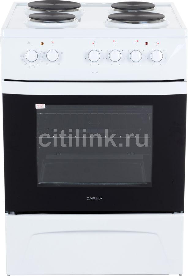 Электрическая плита DARINA 1D EM 141 407 W,  эмаль,  белый
