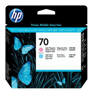 Печатающая головка HP 70 светло-пурпурный / светло-голубой [c9405a]