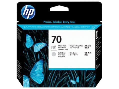 Печатающая головка HP C9407A черный / светло-серый