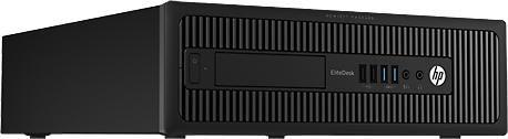 Компьютер  HP EliteDesk 800 G1 SFF,  Intel  Core i5  4570,  DDR3 4Гб, 500Гб,  AMD Radeon HD 8490 - 1024 Мб,  DVD-RW,  Windows 7 Professional,  черный [h5u00ea]