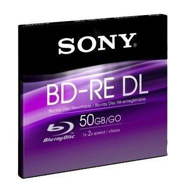 Оптический диск BD-R SONY 50Гб 2x, 1шт., BNE50B, jewel case